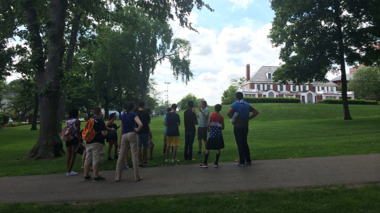 Tufts Students Tour